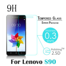High Quality Protective For Lenovo S90 / S90a / S90u / S90t Screen Protector Film For Lenovo S90-a Tempered Glass 100% tested original lenovo s90 lcd display touch screen digitizer pannel assembly with frame replacement s90 t s90 u s90 a tool
