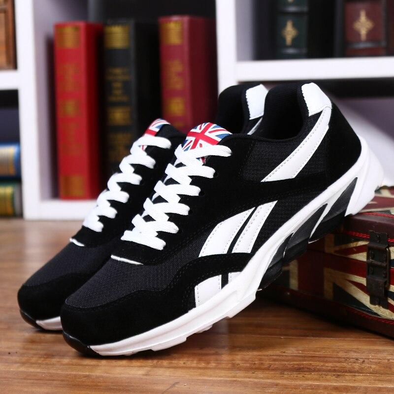 Quatro estações Grande tamanho 39-46 venda Quente tênis de corrida esportes  sapatos para homens atlético sapatos de Fitness corrida Confortável  masculino ... d48a37883b752