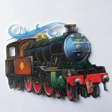 Train Die Cut DIY Stencil Paper Card Album Making Handmade Decoration Craft Scrapbooking Template Embossing New Arrival