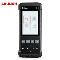 Automotive Scanner Launch CR619 OBD2 ABS SRS Airbag Engine Diagnostic Tool OBD 2 Auto Scanner Car
