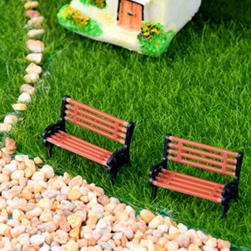 Fantastic Us 0 81 Garden Miniature Fairy Chair Bonsai Small Park Bench Ornament Decorations Potted Plant Diy Craft Dollhouse Decorative Minatures In Figurines Squirreltailoven Fun Painted Chair Ideas Images Squirreltailovenorg
