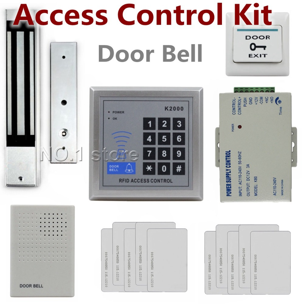 Diy Full Complete Kit 125KHz Rfid ID Card Reader Door Access ...
