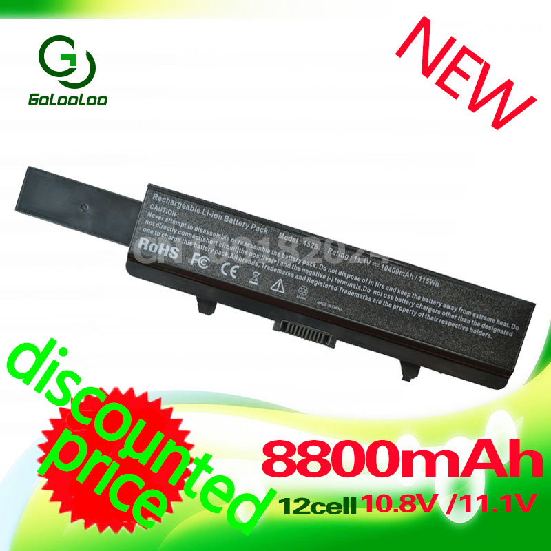Golooloo Battery for dell Inspiron 1525 1526 1545 1546 312-0626 312-0634 312-0633 312-0763 312-0844 451-10534 C601H CR693 sitemap 312 xml