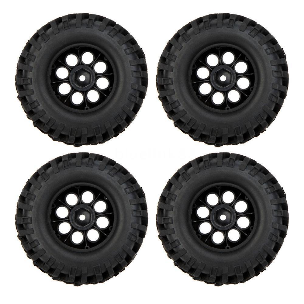 100% 4X 1/10 Climber Off-road Car Wheel Rim+Tire 260001 for Traxxas HSP RC Car