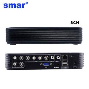Image 2 - 미니 4CH 8CH 1080N AHD DVR 5 in 1 하이브리드 DVR HVR 비디오 레코더 Onvif XMEYE 클라우드 P2P 홈 보안 1080P NVR CCTV DVR 시스템