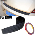Para BMW E46 E53 E60 E52 E90 E91 E92 E93 F10 F20 F30 X1 X3 X4 X5 X6 Car Styling Rear Bumper Guard Proteja Covers Guarnição de Borracha Homem