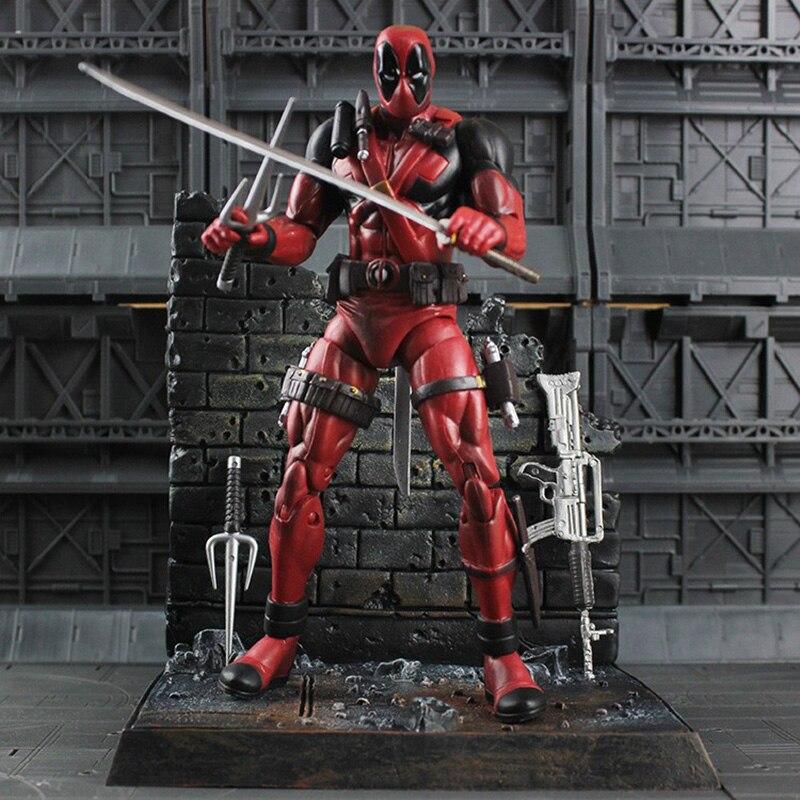 Super Hero X-Men Deadpool PVC Action Figure Collectible Model Toy 18cm  KT1931 1