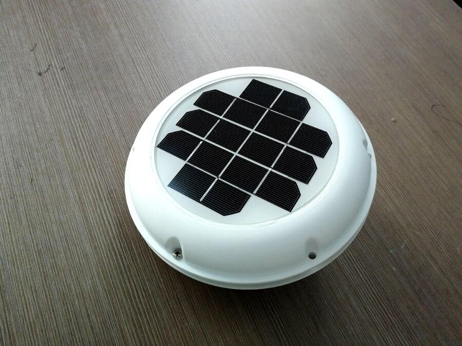 Ventilador de admissão de exaustão de ventilação solar recarregável usado para caravanas barcos casa verde rv motorhome