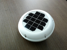 Rechargeable Solar Vent  Exhaust Ventilator Intake fan Used For Caravans Boats Green House RV Motorhome