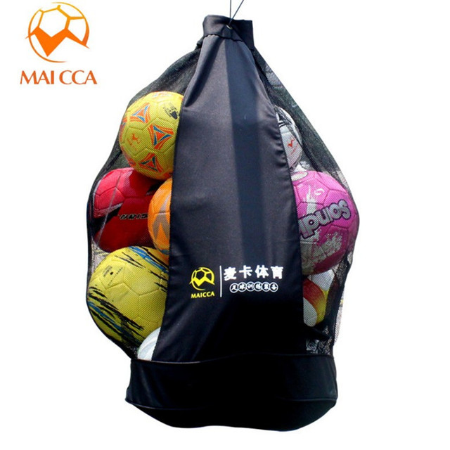 Maicca Soccer Bag For Balls Professional Player Training Mesh Holder Volleyball Football Ball Bags Put