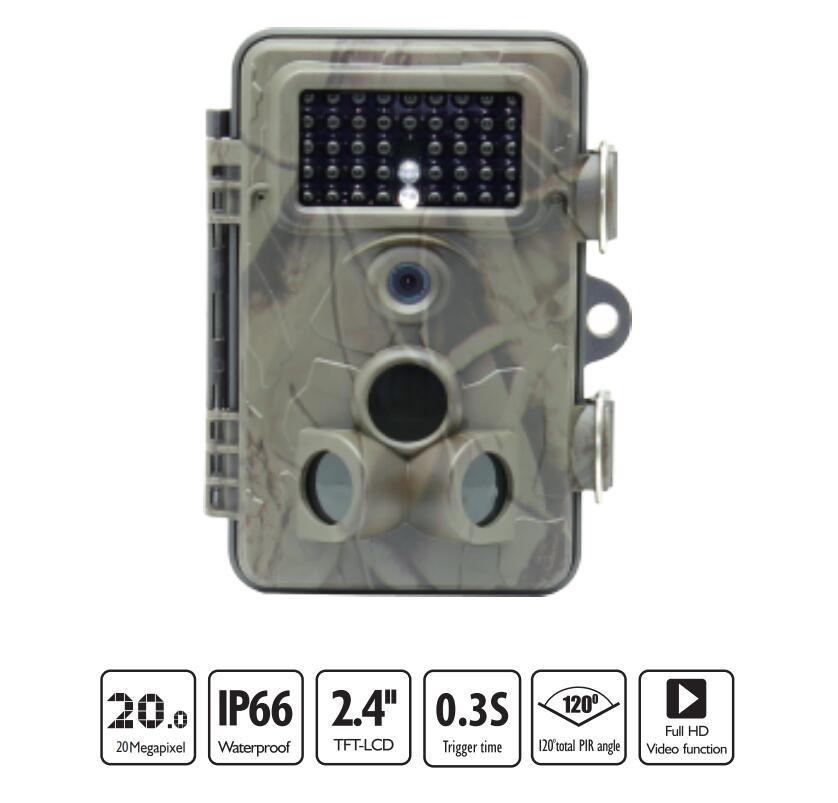 PPDDHKK 5.0 Mage Pixels étanche à la poussière 1080 P numérique infrarouge caméra de sentier faune chasse caméscope accessoires de chasse