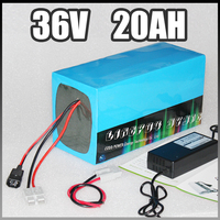 36v 20ah electric bike battery 36v Electric Bicycle lithium Battery with BMS Charger 36v ebike battery DIY li ion battery pack