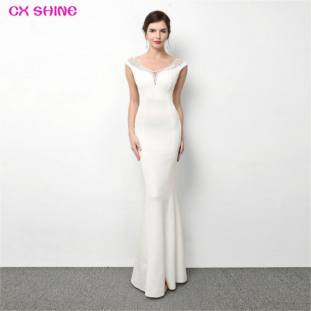 CX GLANZ Chiffon 3 stil lange Brautjungfer Kleider ...