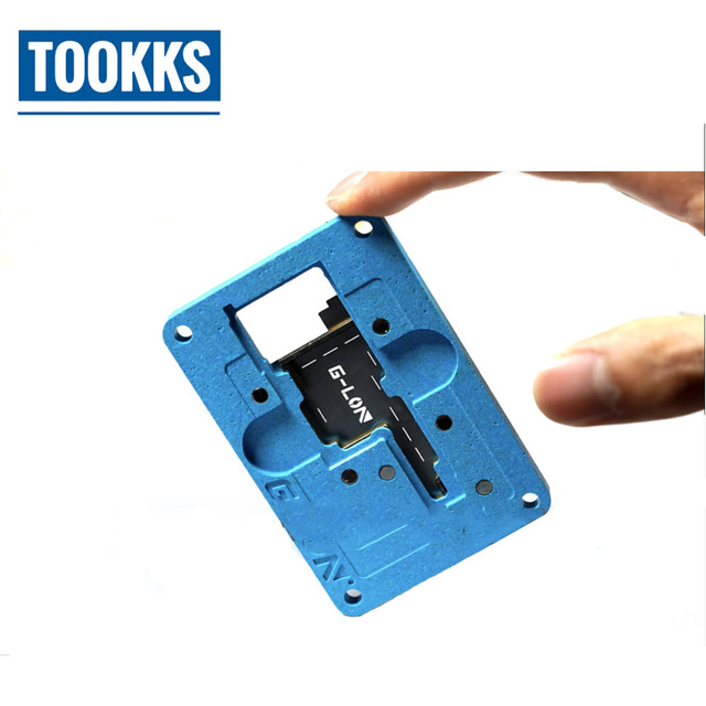 Iphone X BGA Reballing Stencils JIG Kit Mainboard IC CHIP Location Fixture Iphone Chips Circuit Board Repair Tool