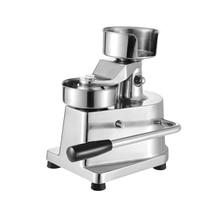 Hambúrguer manual da imprensa do hambúrguer de 100mm de 130mm que forma a carne redonda da máquina que dá forma à máquina de alumínio que forma a patty do hambúrguer
