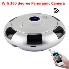 1080P 360 Degree Panoramic Fish Eye IP Camera 2MP Wifi Night Veresion camera APP Remote Control Wireless P2P IP Cam 4k panoramic camera 360 degree fish eye lens wifi camera with ltps lcd 30m underwater diving camera free app view free shipping
