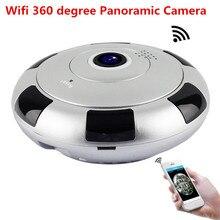 1080P 360 Degree Panoramic Fish Eye IP Camera 2MP Wifi Night Veresion camera APP Remote Control Wireless P2P IP Cam