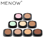 Menow Brand Concealer 9 Colors/Pack Professional Women Contouring Makeup Facial Shadow Cosmetic Face Care Cream drop shipC16001