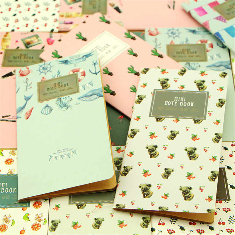 High Quality Cute Korean Stationery Planner Notebook School Supplies  Writing Note Books For Kids Student Gifts Free Shipping