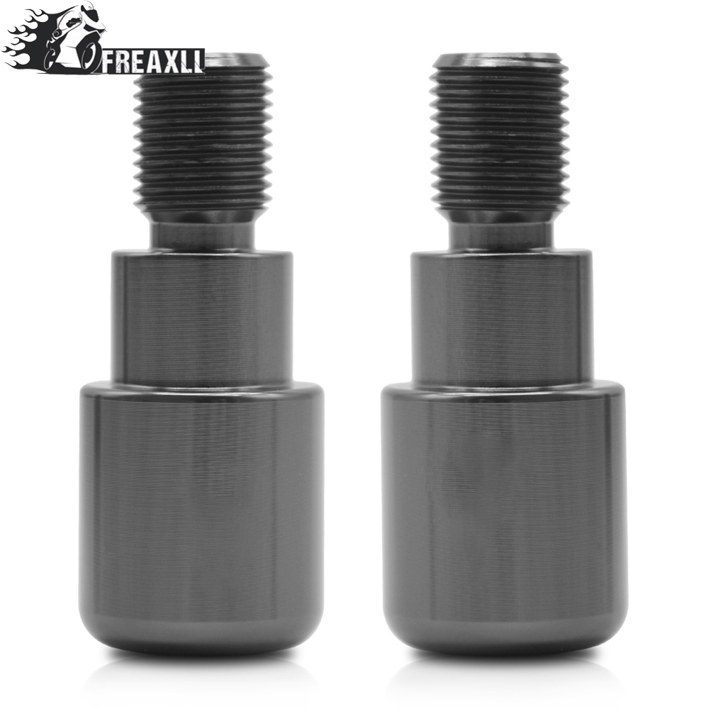 Motorbike Accessories CNC Aluminum Hand Bar Ends For YAMAHA MT 07 mt07 MT 09 mt09 2014 2015 2016 2017 2018 MT 10 2016 2017 in Grips from Automobiles Motorcycles