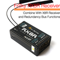 FrSky RX8R Receiver Combine With X8R Receiver And Redundancy Bus Functions