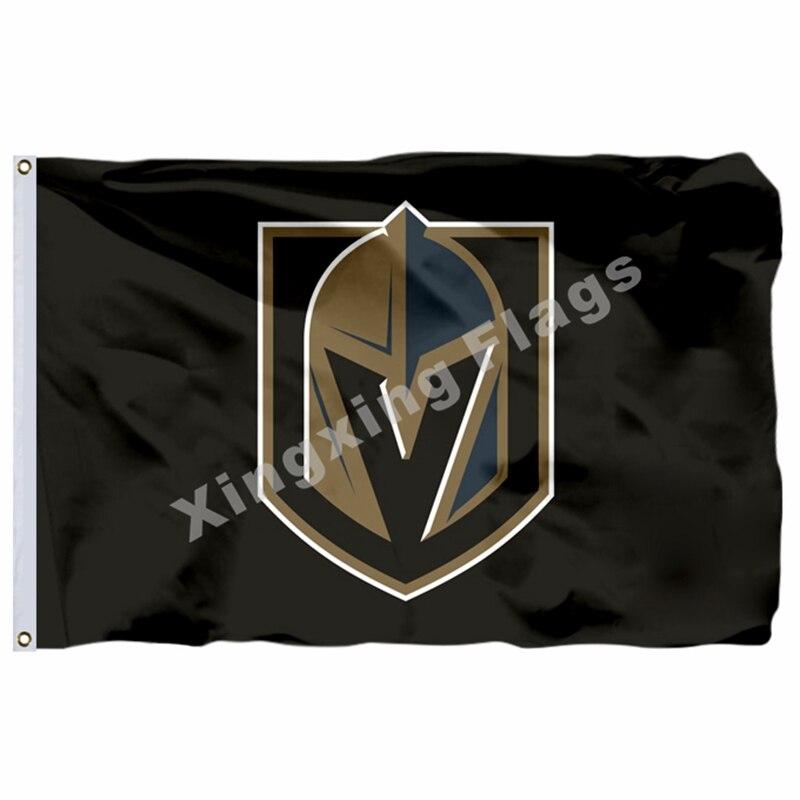 Vegas Golden Knights Team Flag Vegas Born 90x150cm 3x5ft Hockey Best Banner Sports Mem, Cards & Fan Shop Fan Apparel & Souvenirs