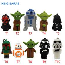 KING SARAS USB stick 10 model usb2.0 star wars USB flash drive pen drive 4GB 8GB 16GB 32GB usb Stick cool gift