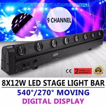 8X12 w 100 w RGBW 4 in 1 Beam LED Bar DMX DJ Podium Verlichting Moving Head Licht