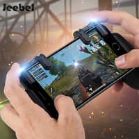 Jeebel Gamepad Trigger Shooter Joystick Controller Knives Mobile Game Fire Button Aim Key Shooter Controller For Mobile PUBG FPS