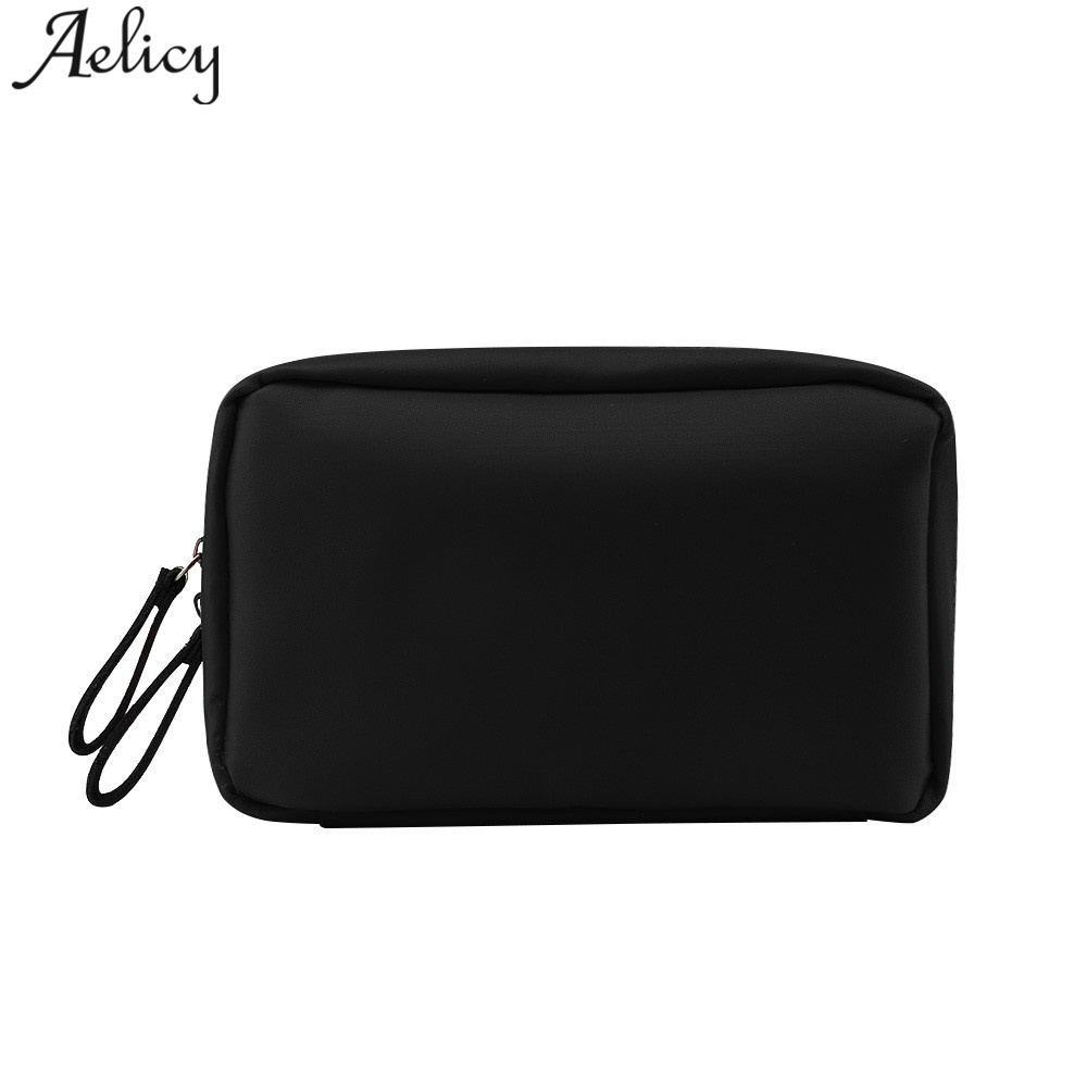 Aelicy Makeup Organizer Bags Women Small Storage Cosmetic Bags High Quality Bramd Storage Bags Nylon Travel Makeup Bag Pouch