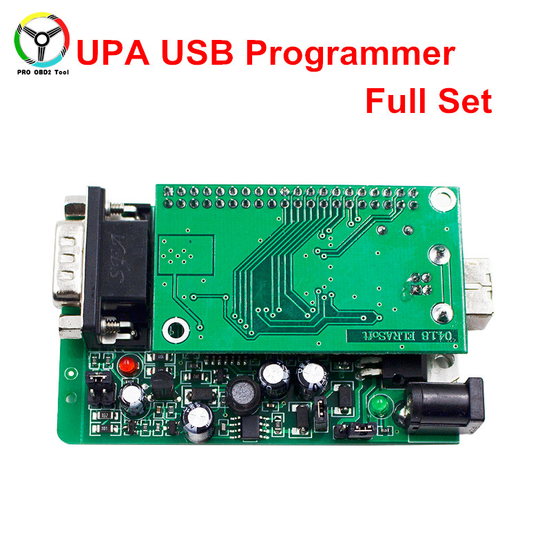 2018 New UPA USB Programmer V1.3 Green Adapter Full Sets Auto ECU Chip Tuning EEPROM V1.3 UPA-USB OBD2 ECU Adapters кондиционер new auto usb