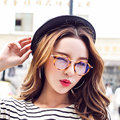 Женщины Компьютерные Очки Для Мужчин Прозрачные Очки Круглый Мода Очковая оправа Óculos Де Грау Женщины Анти Blue Ray Покрытие