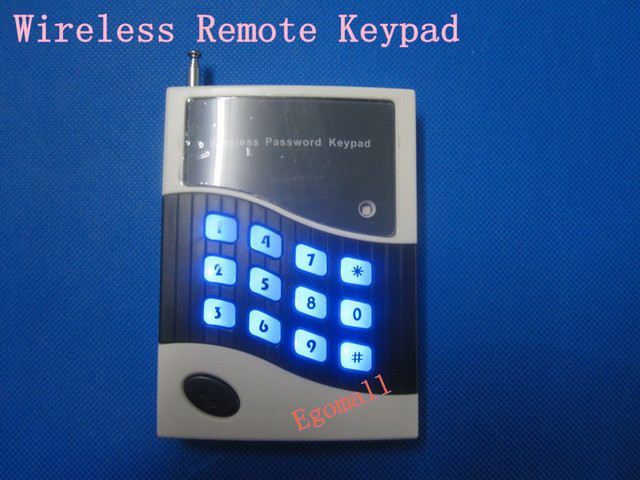 Wireless Remote Keypad/ Keyboard Panel For GSM Security Alarm System 433MHZ Free Ship S183
