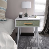 Lifewit Nightstand End Table Sofa Table Corner Table With Drawer White Home Storage For Bedroom Living