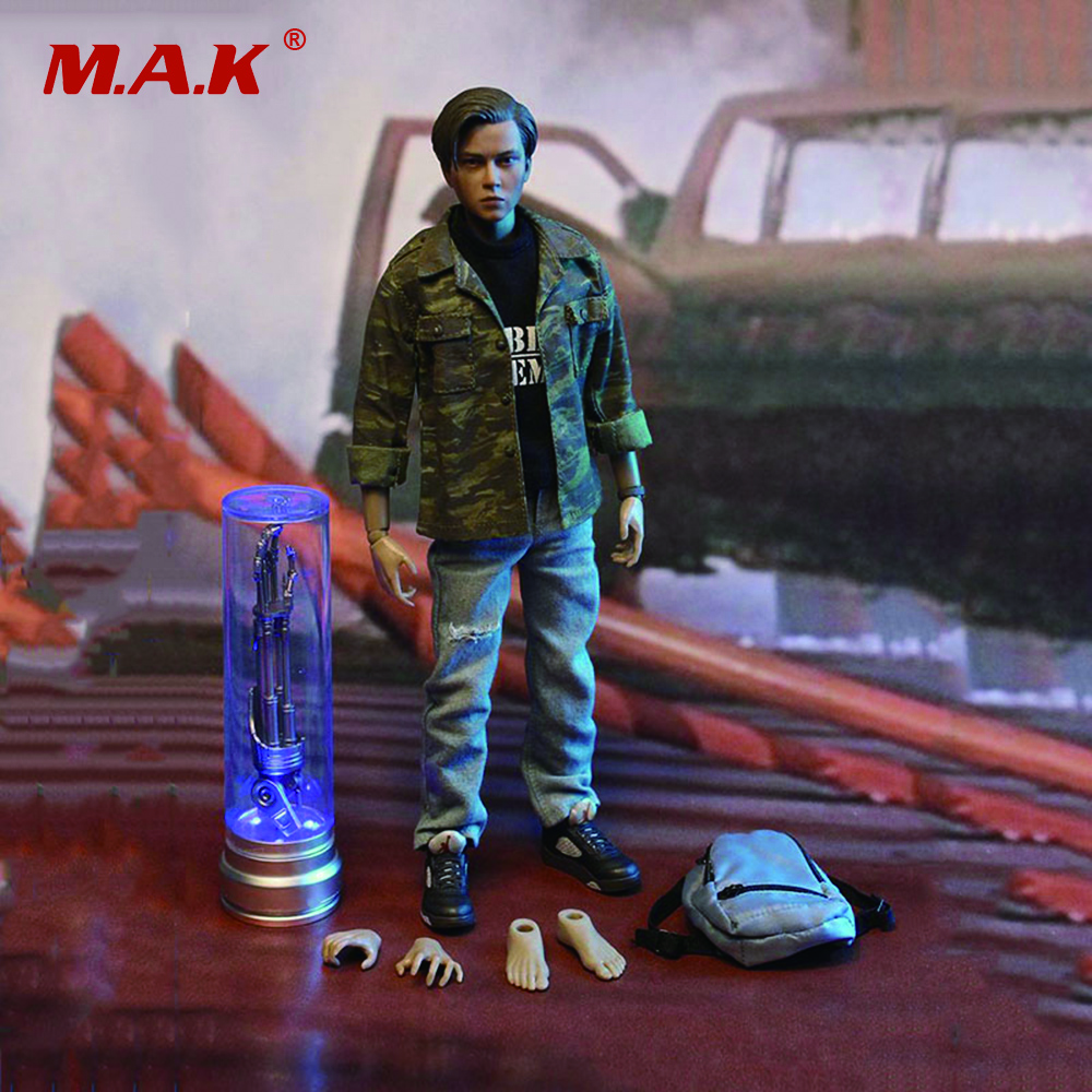 1/6 Scale Terminator 2 Teenager Connor Human Rebel leader Full Set Action Figure for Collections Toys Gifts 1 6 scale full set male action figure kmf037 john wick retired killer keanu reeves figure model toys for gift collections