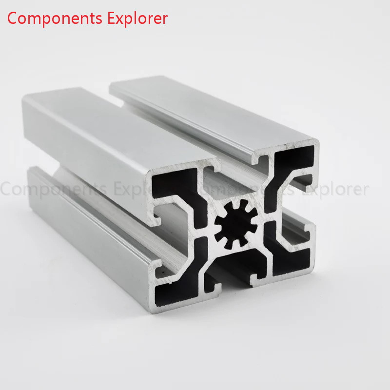 Arbitrary Cutting 1000mm 4560 Aluminum Extrusion Profile,Silvery Color.