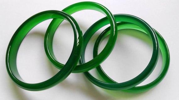 2pcs Handmade Solid Green agate bangles agate bangle stone bangle solid stone bangle bangle jewelry bracelet все цены