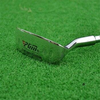 PGM Golf Doppel-seite Hacker Club Edelstahl Kopf Mallet Stange Schleifen Push Stange Chipping Club Golf Putter Für Outdoor Sport