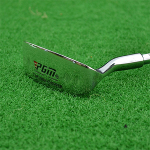 Image 2 - PGM Golf Double side Chipper Club Stainless Steel Head Mallet Rod Grinding Push Rod Chipping Club golf putter for Outdoor sports