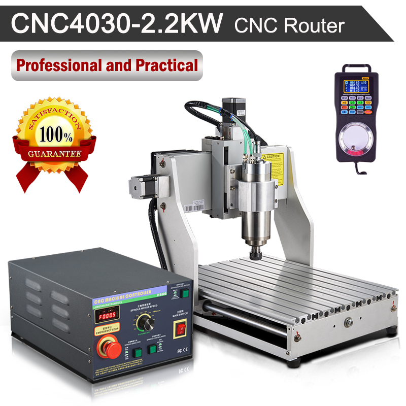 CNC Router CNC4030 2.2KW 110V/220V Engraving Milling Machine eur free tax cnc 6040z frame of engraving and milling machine for diy cnc router