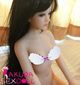Full Solid Real Silicone Sex Doll Small Breast Flat Breast Young Girl Full Silicone Love Doll