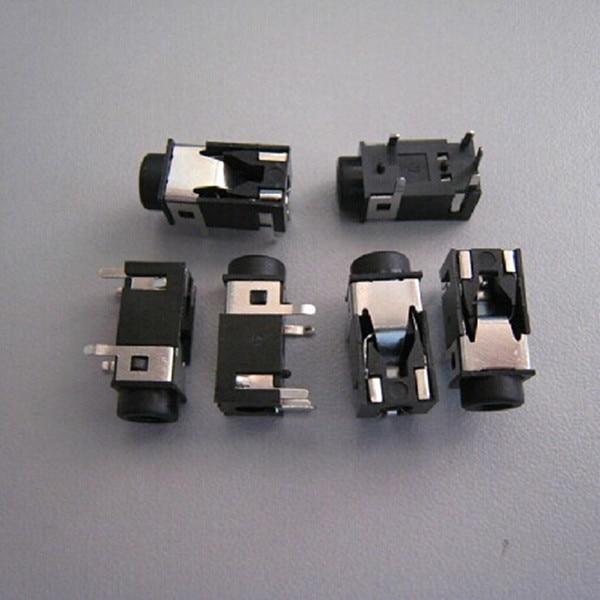 10PCS 3.5mm Female Audio Connector 5 Pin DIP Headphone Jack Socket PJ-321B