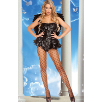 Women Adult Fallen Angel Dark Angel Costume Hot Sale Halloween 2015 New Cosplay And Stage Characters