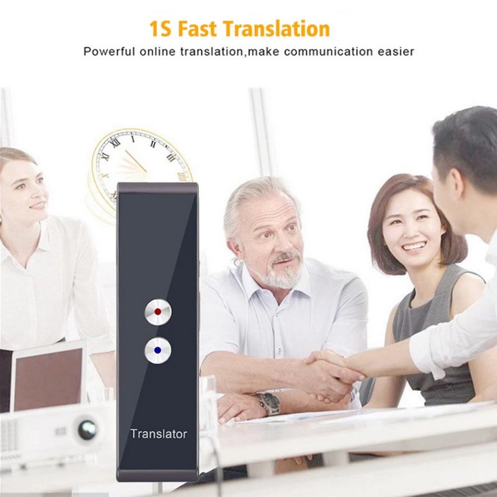 Traducteur vocal portable de voyage, 70 langues