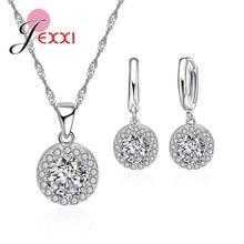 JEXXI Jewelry Sets Silver 925 Bridal Wedding Accessory Fashi