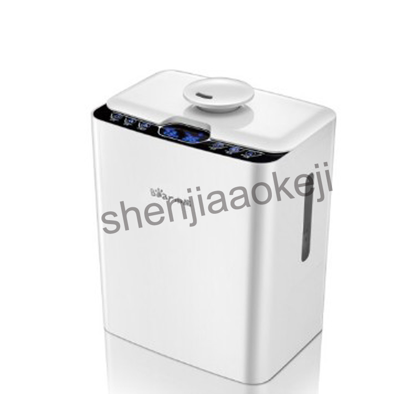 все цены на JSQ-140WA Ultrasonic-Humidifier air humidifier mute negative ion pasteurized hot fog sterilization purification machine 220V 1pc онлайн