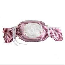 цена на New Candy Shape Shoulder Bag Personalized Satchel Girls Sweet Chain Crossbody Shoulder Bag Ladies PVC Party Clutch Bag Purses