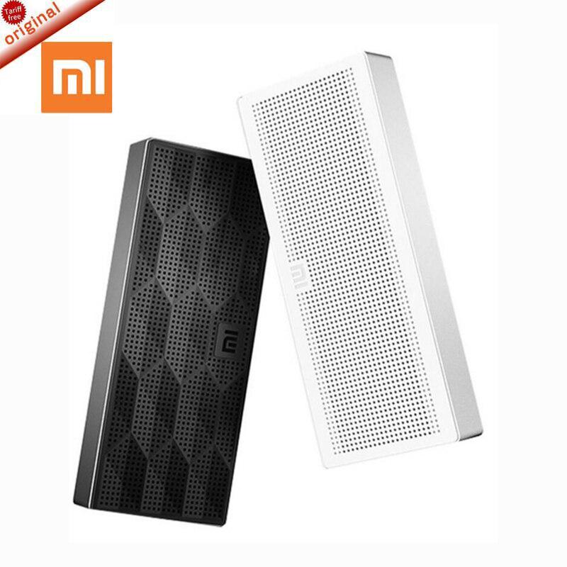 Original Xiaomi Square Box Bluetooth Speaker Wireless Portable Stereo Mini Speaker New Original Bluetooth 4.0 for Mobile Phones