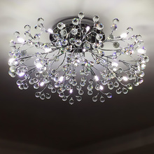Fancy ceiling Light Crystal LED Crystal ceiling lamp modern lamps for living room lights AC110-240V Crystal lighting Bed Room modern minimalist crystal ceiling lamps living room ceiling creative fashion luxury crystal led ceiling light c 014
