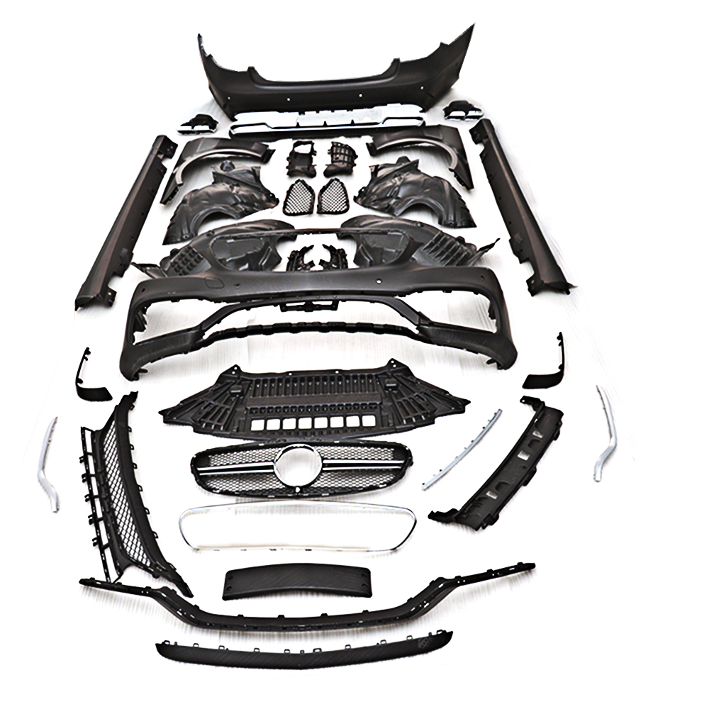 S Class PP car body kit body for Mercedes Benz W212 2014 2017